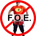 F.O.E., A Family Organization Dedicated To Evil Doings And The Combat And Eradication Of Chuckman