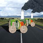 Canned Carrots With Wheels And Smoke Belching Smokestack And Headlight.  A Question:  What's A Spartacus?