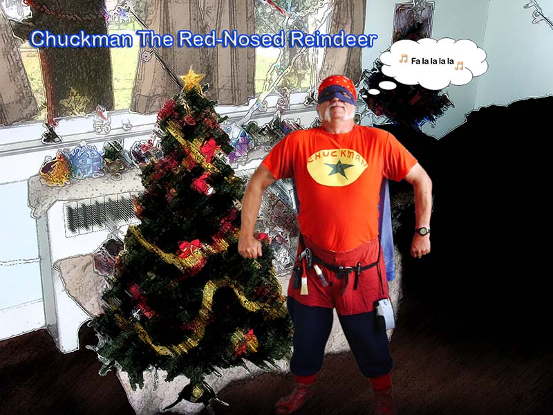 Chuckman The Red-Nosed Reindeer