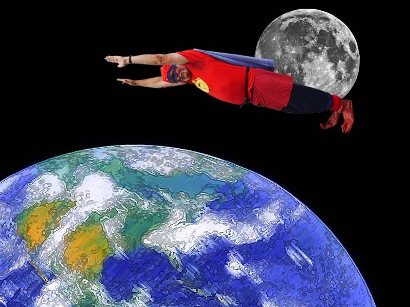 Chuckman Flies To The Edge Of Space
